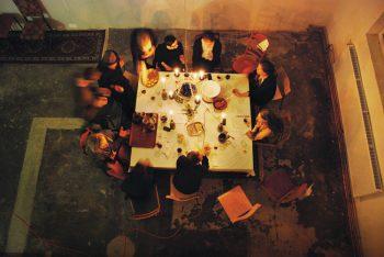 Symposium on self-organization within contemporary art