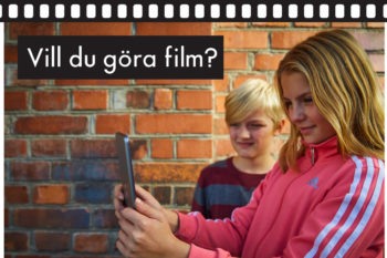 During the autumn holidays: Come and film with us!