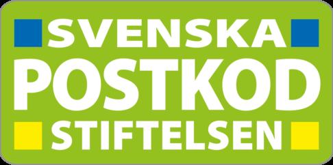 Svenska Postkodstiftelsens logotyp